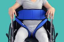 轮椅大腿式亚博app苹果下载地址带轮椅固定带厂家批发直销