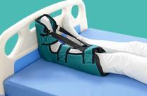 棉质靴型踝关节固定器 防足下垂踝足矫形器